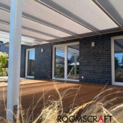 Dachflächenplissees